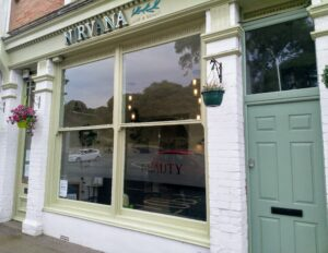 Nirvana hair salon in Sandgate