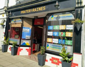 Prater Raines website development in Sandgate