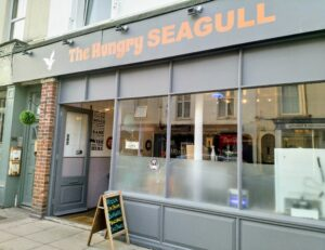 The Hungry Seagull, American and Italian takeaway in Sandgate.